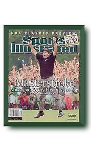 sports illustrated magazine frames