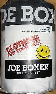 Joe Boxer Bedding Ebay