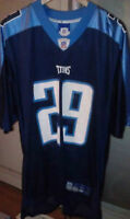Tennessee Titans NFL Reebok Jersey - Chris Brown #29 - size L