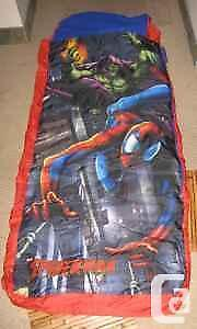 Matelas Gonflable Spiderman Ready Bed Inflatable Spiderman Bed