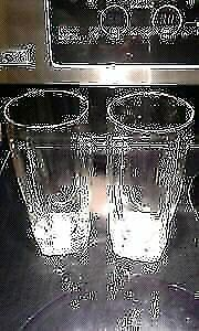 New 8 ounce water glasses