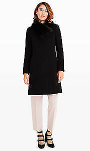 Club Monaco Evangah Coat in Black - OBO (Size-Large)