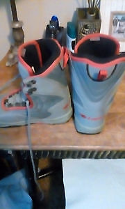 Lamar snowboard boots For kids size 4