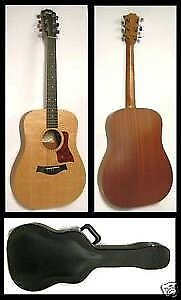 Taylor Baby Guitar + Rare Case (BRAND NEW)