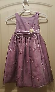 Purple Flower Girl Dresses * Calgary Wedding And Party Rentals