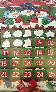 Felt Advent Calendar Ebay