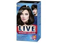 Schwarzkopf Live intense hair colouring, dark chocolate