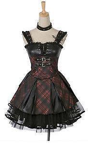 Gothic Lolita Punk Dress Ebay
