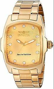 MENS GOLD TONE SPECIAL EDITION WATCH--INVICTA LUPAH
