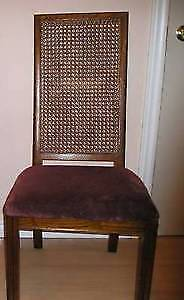 Vintage Cane-Back CHAIR by Sklar Peppler