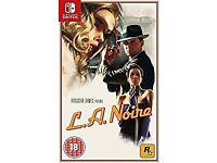 L.A. Noire (Nintendo Switch) , as new , just a few days old ! price stands , no offers !