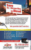 $$ SAVINGS ON GAS FOR FLEET OWNERS