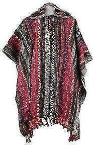 Mexican poncho clothing shoes amp accessories ebay