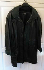 Leather Coat High End Kitchener / Waterloo Kitchener Area image 1