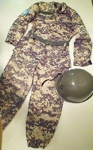 Army/UN officer costume - Child Size 4 Peterborough Peterborough Area image 1