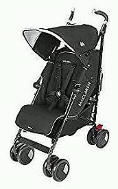 Maclaren techno xt pram/buggy in Black