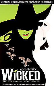 Wicked Tickets Toronto June 29 @7:30pm