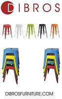 Stackable Bar & Counter Stools Available in Different Colors