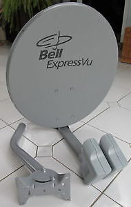 Bell Dish Expressvu    Double head  with switch