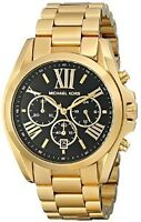 Michael Kors; Oversized Bradshaw Gold with Black Face