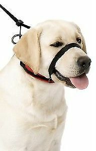 NIB Yuppie Puppy Large Black Head Halter  Size Large