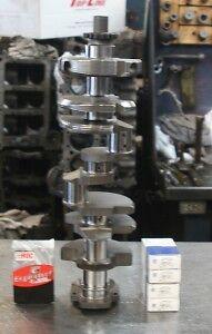 Early Chevy 350 5.7 Crankshaft Crank Kit 1968-1985 2pc.