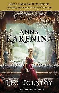 Anna Karenina by Leo Tolstoy softcover book, Movie Tie-in Ed.