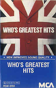 Who's Greatest Hits on cassette