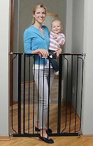 Extra Tall baby gate with opening.