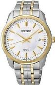 Mens Seiko Watch Two Tone