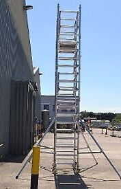 BOSS Youngman 6.2m Scaffold Tower (Good Condition)