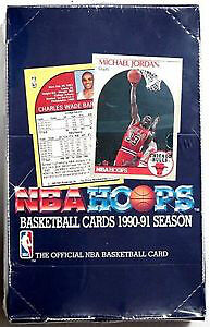 1990-91 HOOPS ... BASKETBALL ... LOW # BOX - KEMP, HARDAWAY RCs?