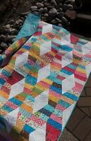 Paper Pattern - Hugs & Kisses Quilt Pattern & Lazy Angle Ruler