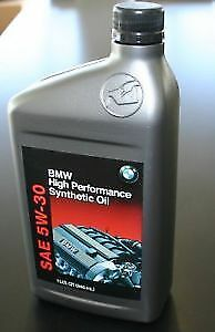 BMW Brand New High Performance Synthetic Oil 5w30, 0w20 & 0w30