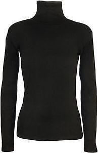 ad3224165605a Black Polo Neck  Women s Clothing