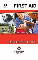 First Aid + CPR St. John Ambulance Book Reference Guide