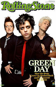 GREEN DAY. 8TH. ROW =H= FLOOR DEAD CENTER.PARTERE 8IEME RANGEE=H