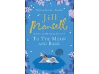 To the Moon and Back by Jill Mansell (Paperback, 2011)(WILL POST FOR EXTRA CHARGE)