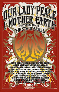 2 tickets to Our Lady Peace and I Mother Earth- Kitchener