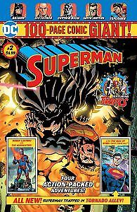 SUPERMAN 100 PAGE COMIC GIANT #2 WALMART EXCLUSIVE MINT