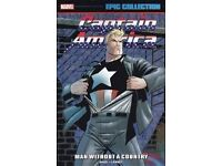 """Captain America """"Man Without a Country"""" comic book, brand new"""