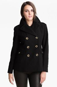 WOMENS - MICHAEL KORS Double-breasted Peacoat