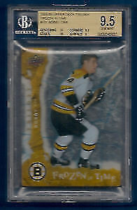 2008-09 UD Trilogy Frozen In Time  Bobby Orr Graded BGS 9.5