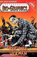 pee wee herman comic book 1992 issue #2