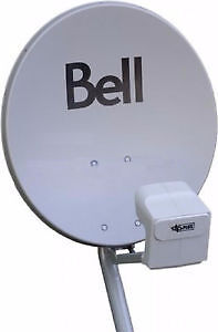 NEW Pre-Assembled Bell Satelite Dishes