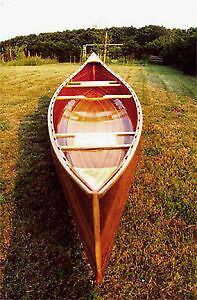 16' Cedar Strip Canoe Kits