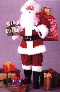 Belle habit de Pere Noel a louer pour vos evenements des fetes