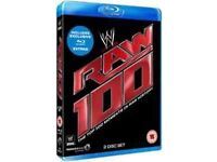 WWE raw 100 blu ray