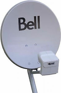 NEW Bell Satellite DPP Twin LNB