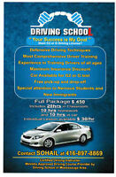Driving School / Driving Lesson in NEW CAR